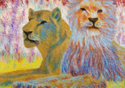 A Lion's Den